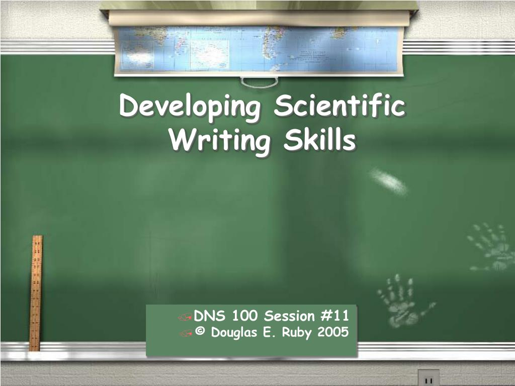 developing scientific writing skills l.
