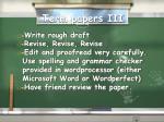 term papers iii
