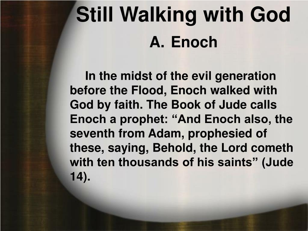 Still Walking with God