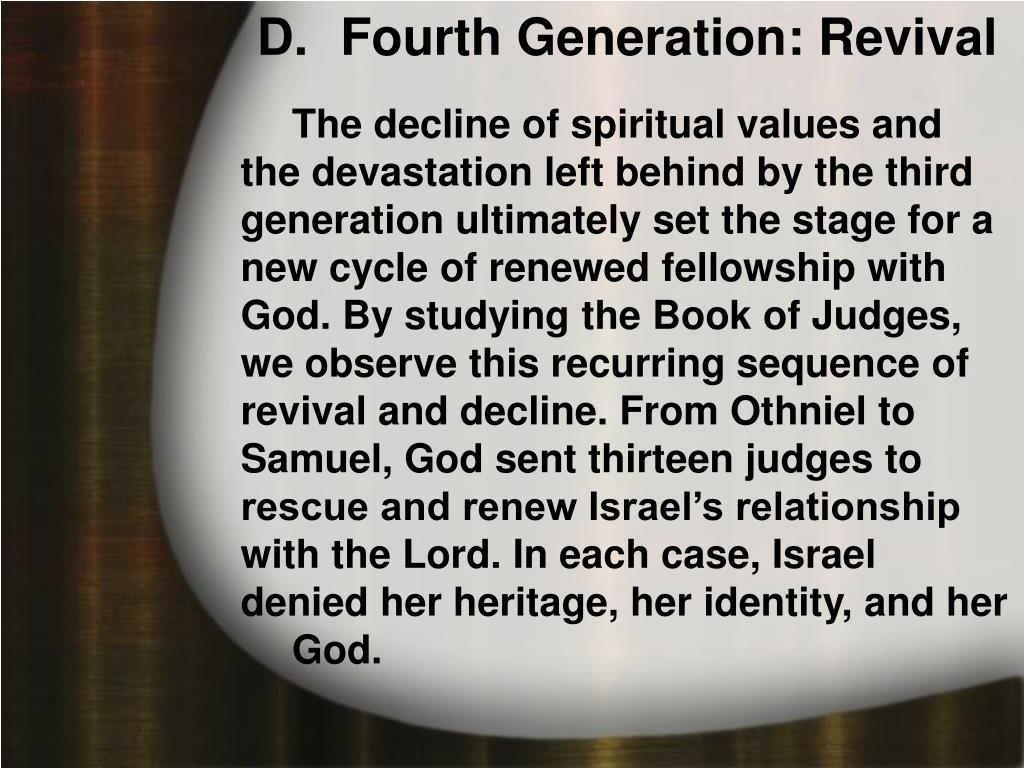 Fourth Generation: Revival