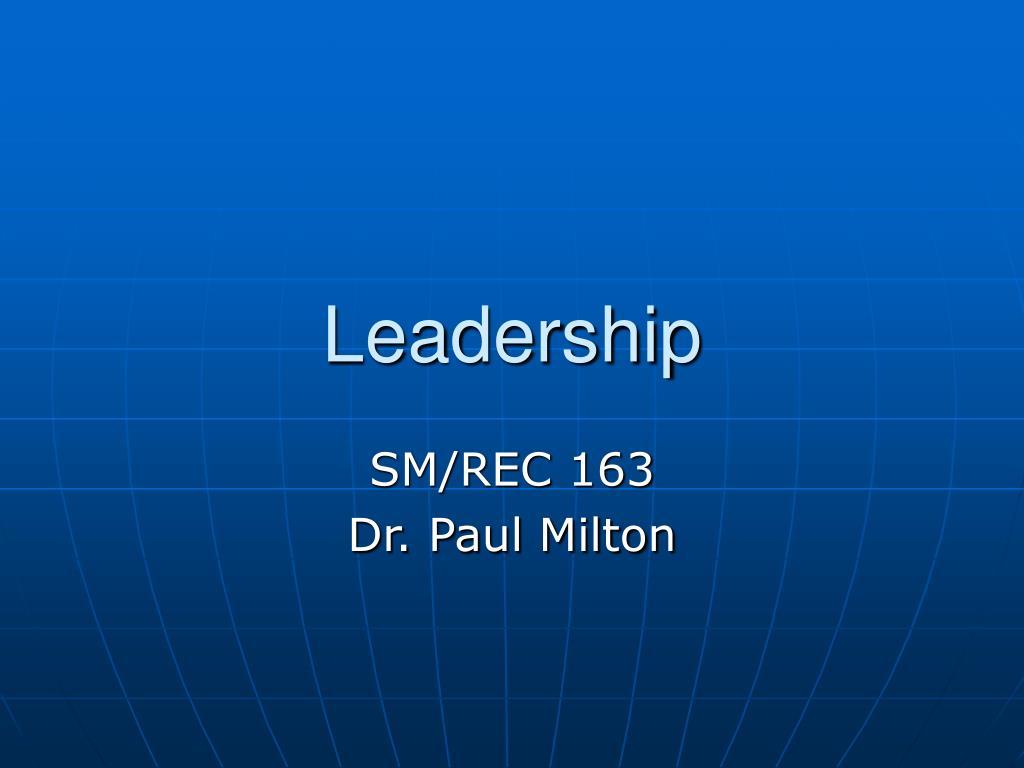 leadership l.