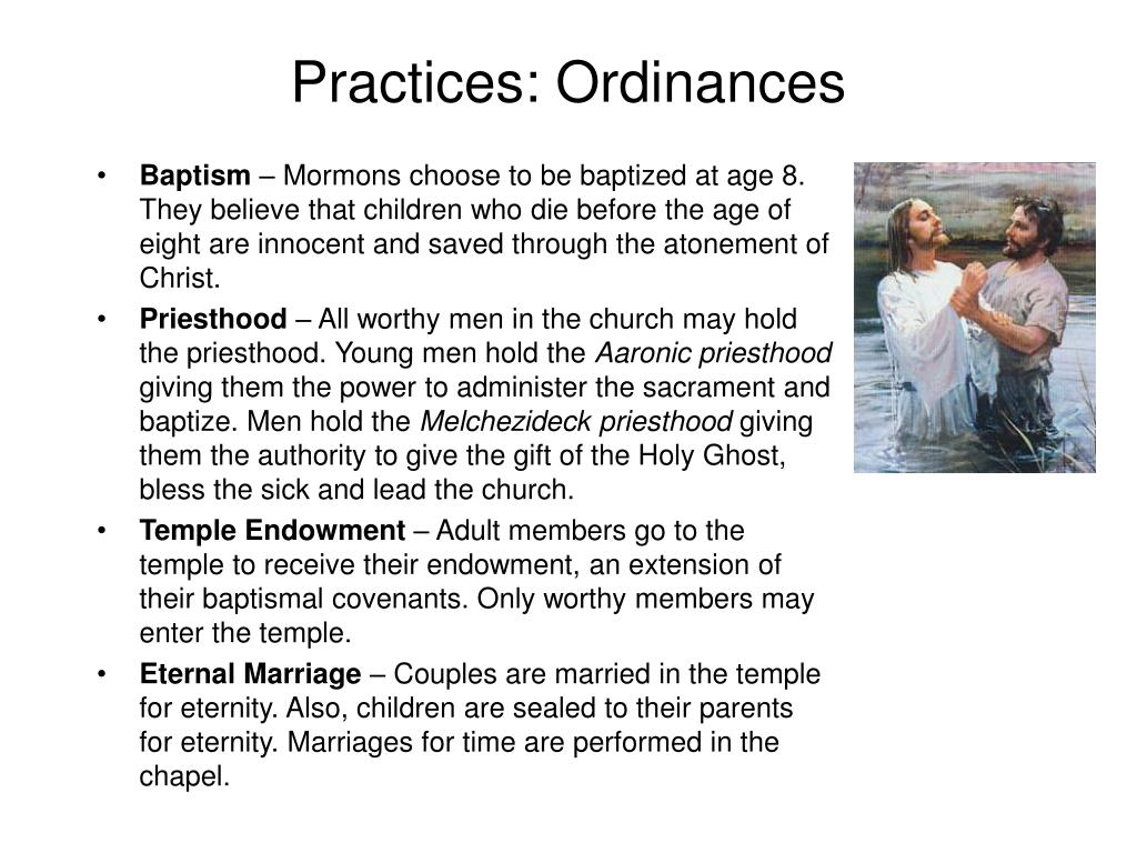 Practices: Ordinances