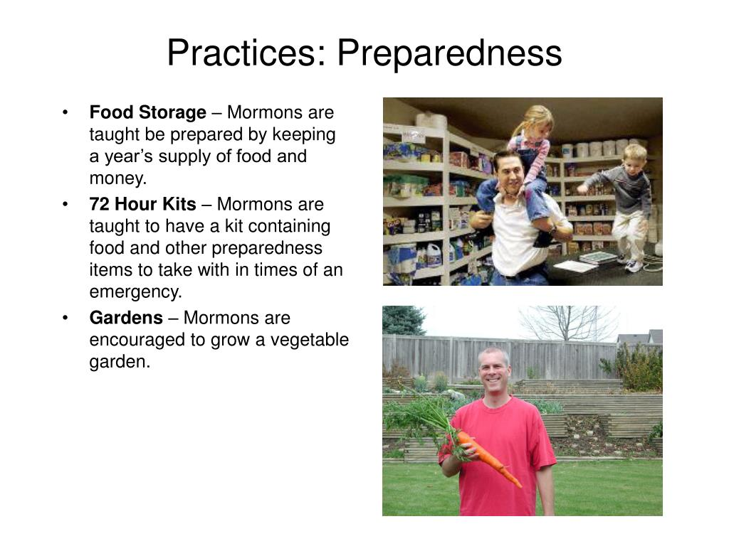 Practices: Preparedness