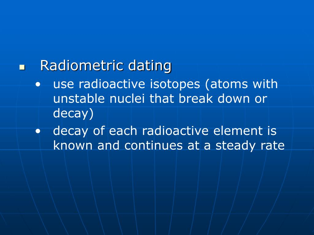 the use of radioactive isotope in