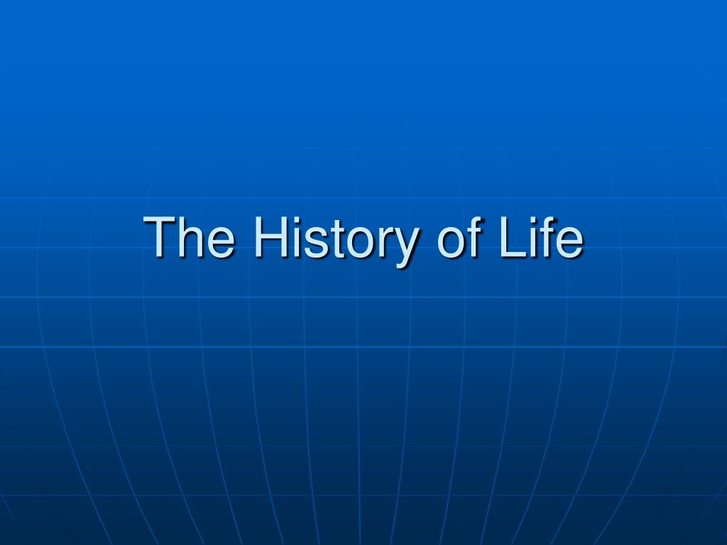 the history of life l.