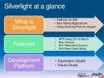 silverlight at a glance