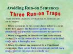 avoiding run on sentences6