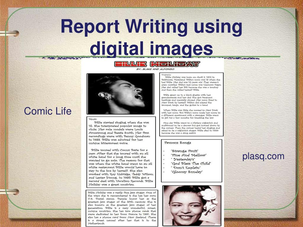 Report Writing using