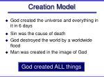 creation model