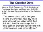 the creation days39