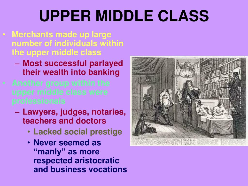 upper middle class l.