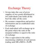exchange theory16