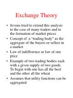 exchange theory17