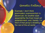 genetic fallacy18