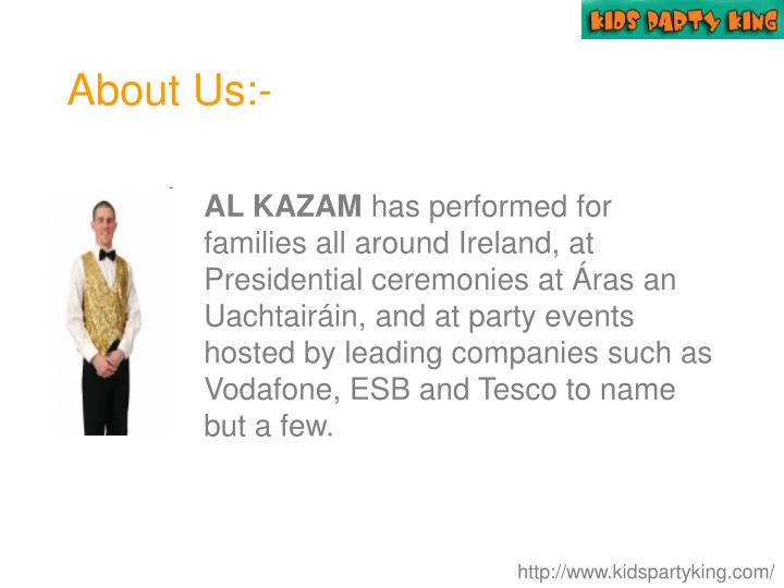 About Us:-