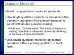 quotation marks 2
