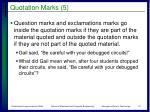 quotation marks 5