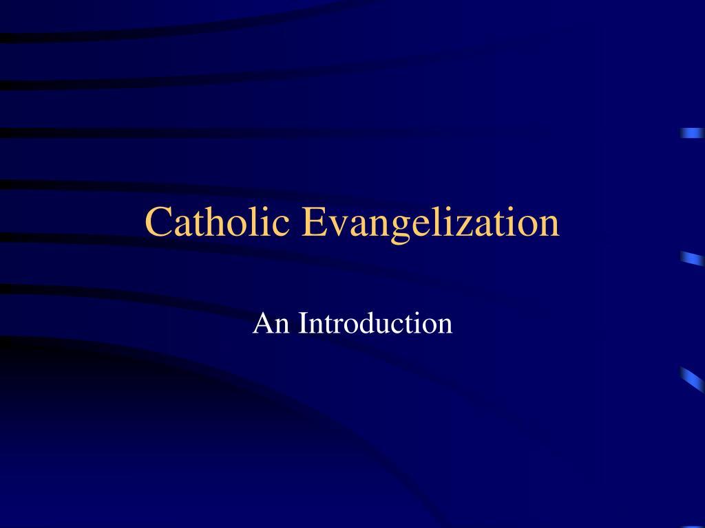 catholic evangelization l.