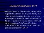 evangelii nuntiandi 19755