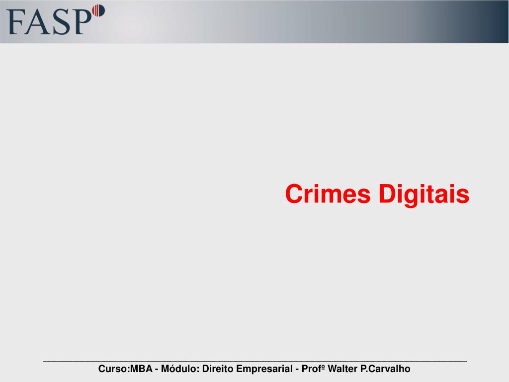 crimes digitais l.