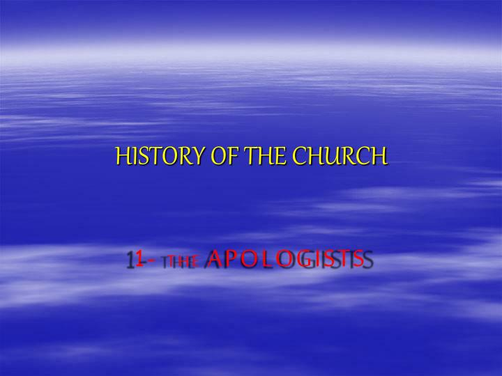 history of the church n.