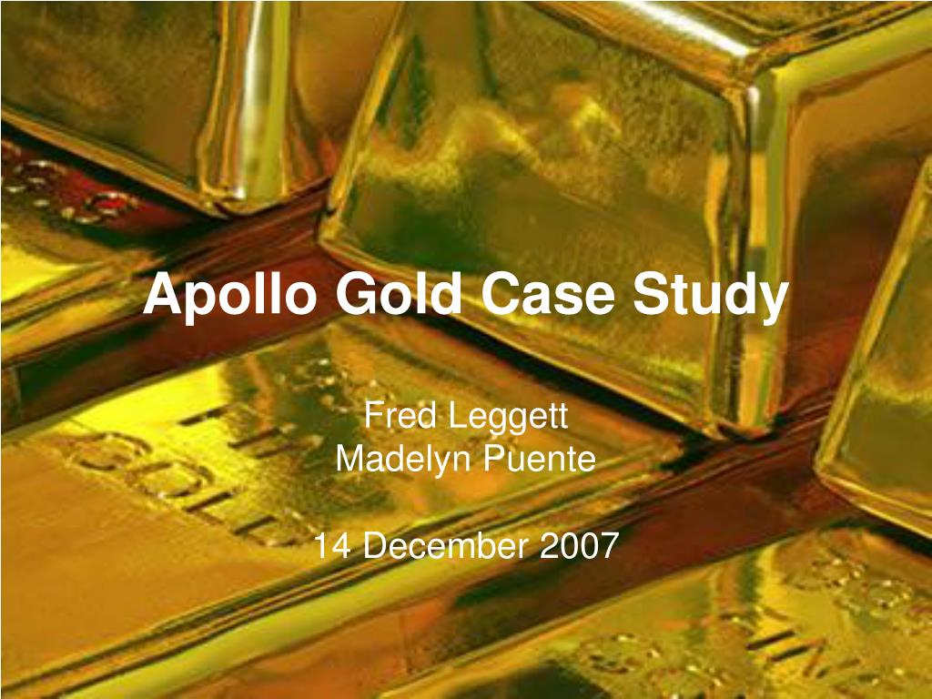 apollo gold case study l.