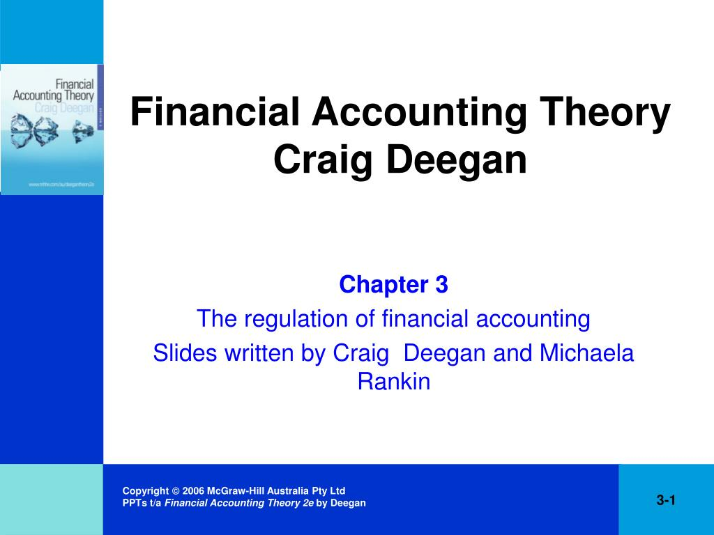 Ppt Financial Accounting Theory Craig Deegan Powerpoint