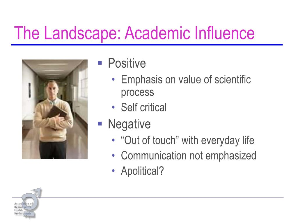 The Landscape: Academic Influence