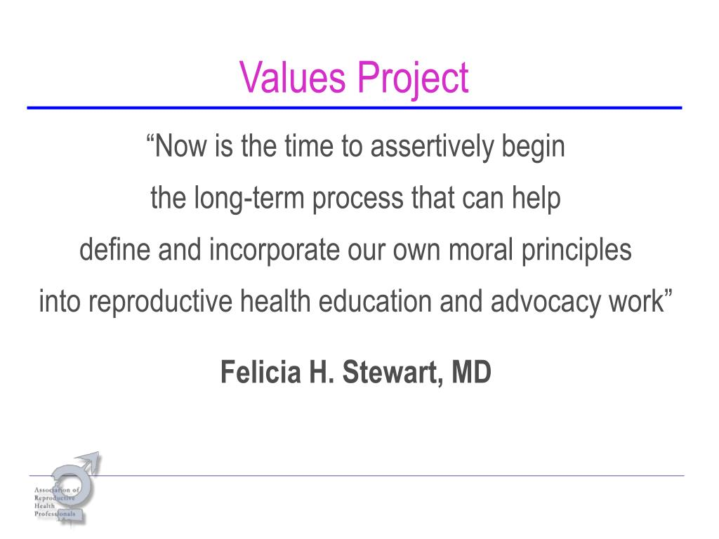 Values Project