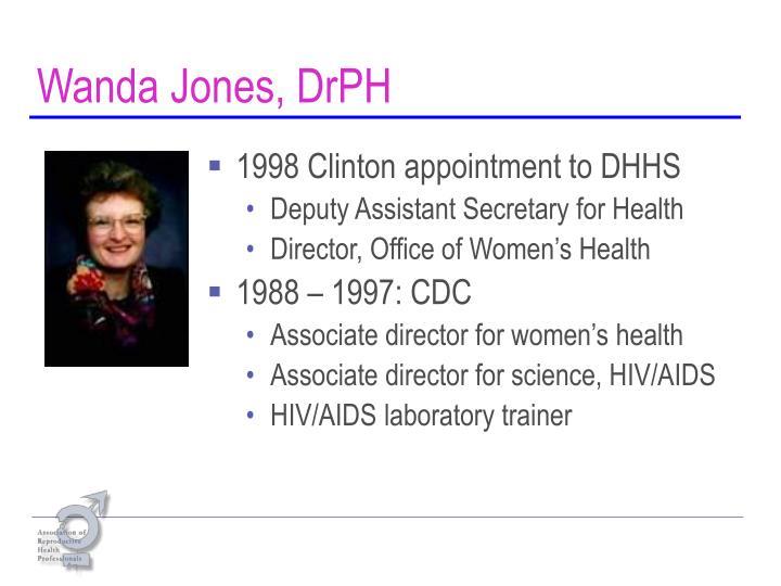 Wanda jones drph