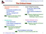 the critical areas