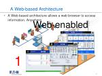 a web based architecture