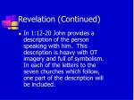 revelation continued30
