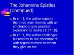 the johannine epistles continued14