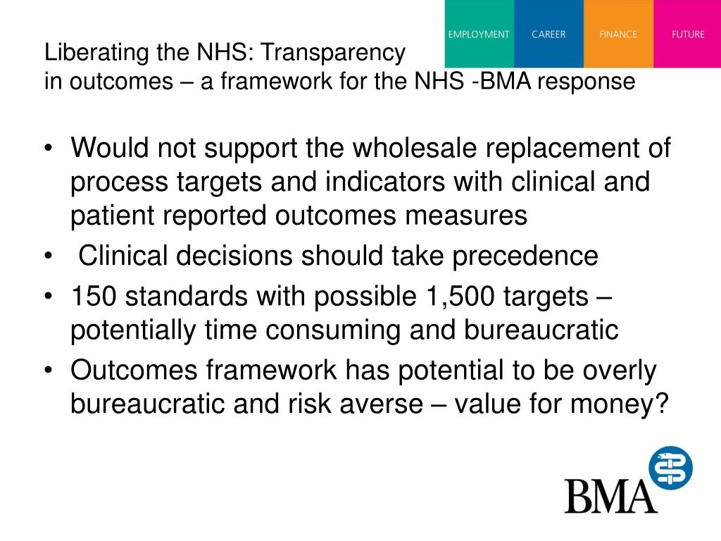 Liberating the NHS: Transparency