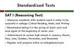 standardized tests24