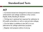 standardized tests25