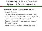 university of north carolina system of public institutions18