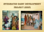 integrated dairy development project iddp