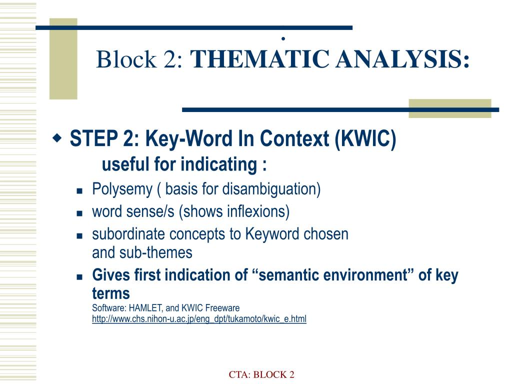 block 2 thematic analysis l.