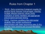 rules from chapter 137