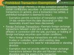 prohibited transaction exemptions14