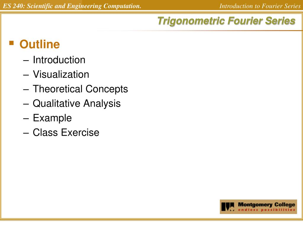 trigonometric fourier series l.