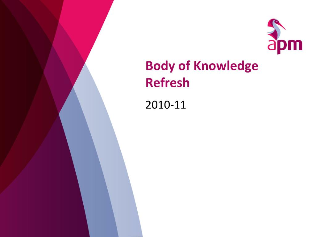 Body of Knowledge Refresh