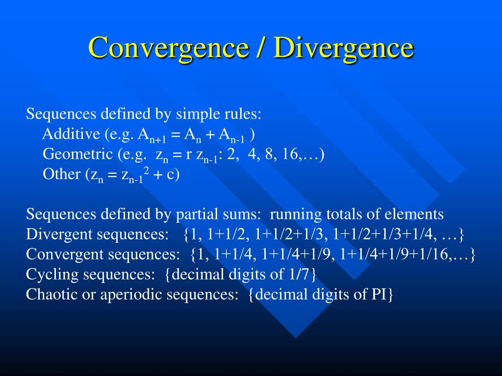 Convergence / Divergence