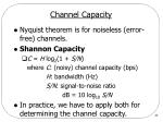 channel capacity1
