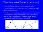 classification of states continued2