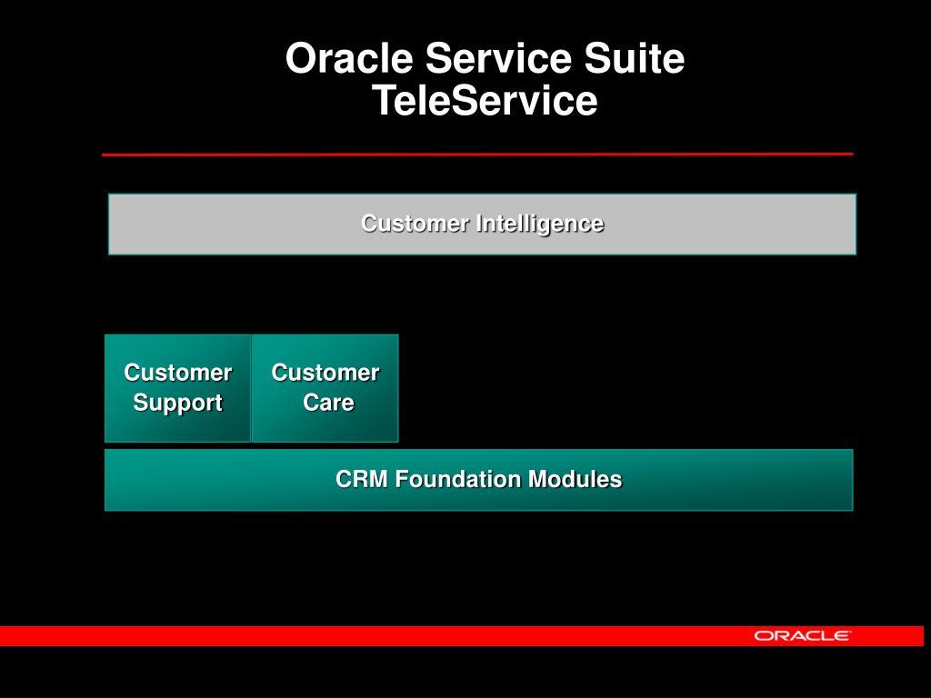 Oracle Service Suite