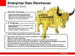 enterprise data warehouse raiffeisen bank
