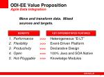 odi ee value proposition agile data integration